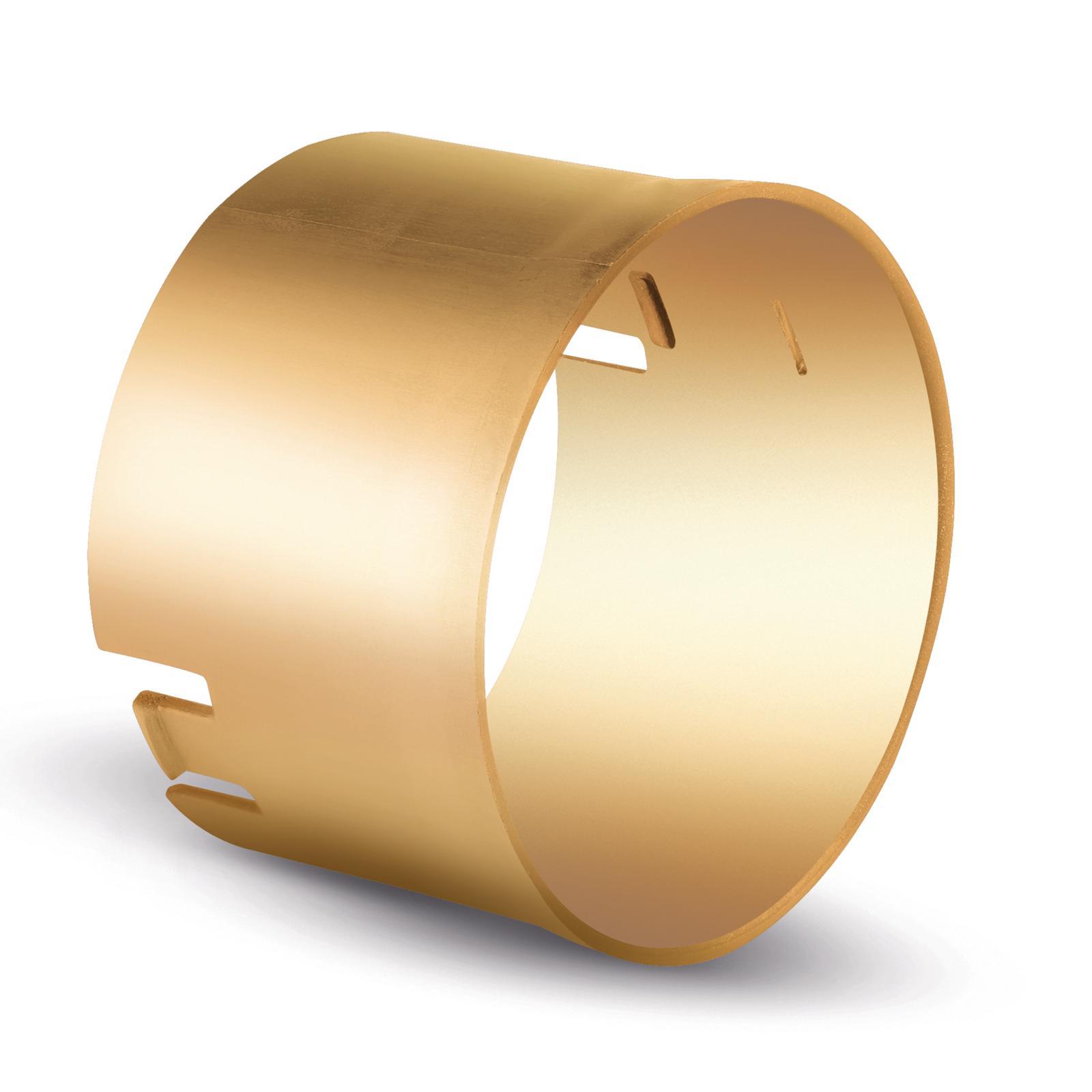 Cilindro oro satinato